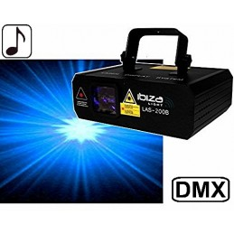 Blue Laser 200mW DMX LIGHT...