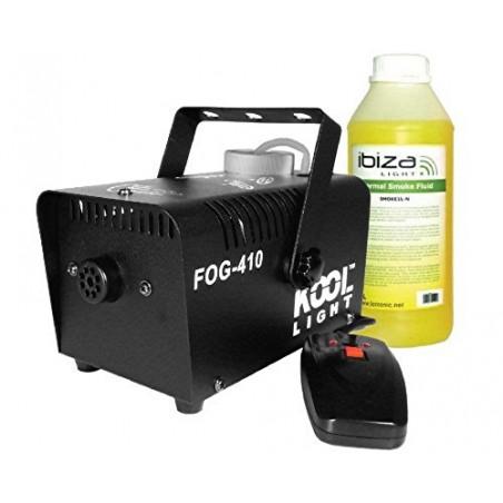 rookmachine 400w + afgelegen FOG-410F vloeistof