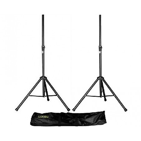 A pair of speaker stands + cover LQP-ST-1B