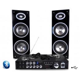 Karaoke amplifier 80W + 2 +...