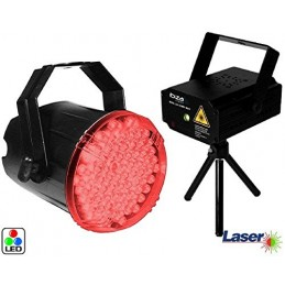 Pack Green Laser & Red +...