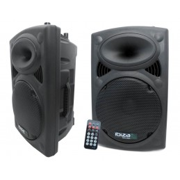 powered speaker 700W + 600W...