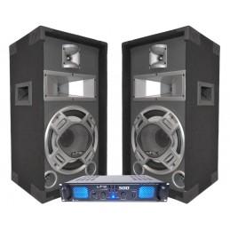 DJ Pack 500W + 2 speakers...
