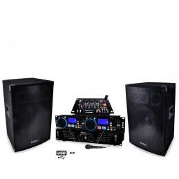 Pack PA DJ-550 Amplifier 2...