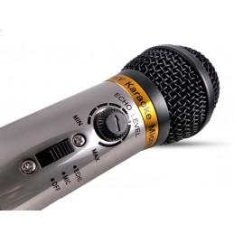 Karaoke microphone echo...