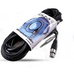 MICROPHONE CABLE 6M XLR...