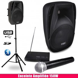 Pack 150W amplified sound...