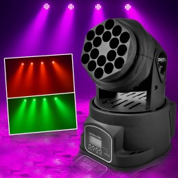 LYRE BEAM Mini 18LED RGB...