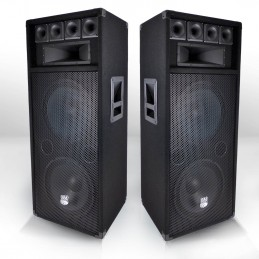 2x pair of speakers 600 W...