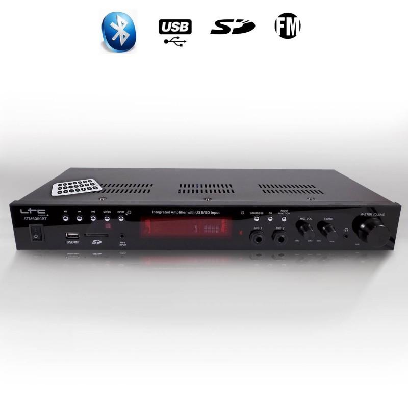 5 Kanal bluetooth Stereo-Power Verstärker HIFI Digital Tuner USB SD FM 220V !