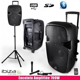 active speaker 700W, 4MIC...