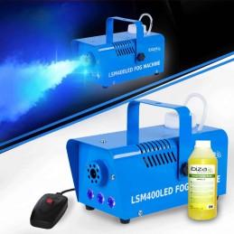 LED fog machine 400W Blue +...