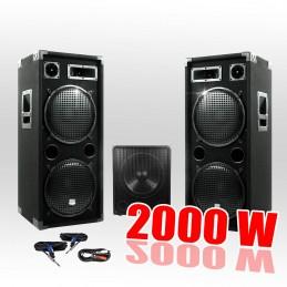 Pack PA 15212 2000W...