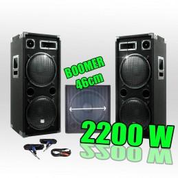 Pack PA 18212 2200W...