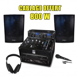 PACK LIVE DJ 800W Full, Amp...