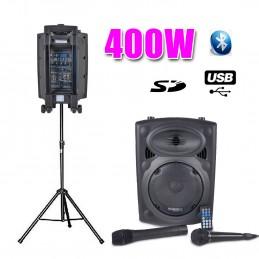 """Active Speaker 8 """"400W, USB..."""
