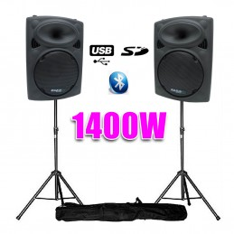 "Powered speakers 12 ""30cm..."