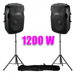 "speaker Dj LIVE ON 15 ""/..."