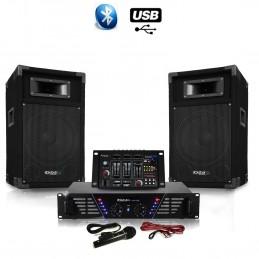 Pack Sono DJ300-BT + HP...