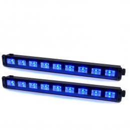 2 barre LED 9x1W UV...