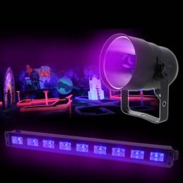 Pack Bar UV LED LAMP 9x1W +...