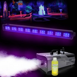 Pack smoke machine 900W +...