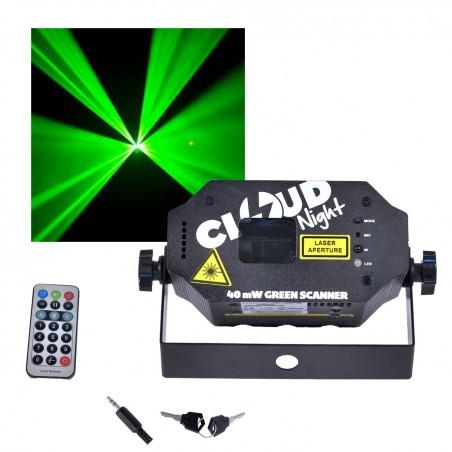 Mini Laser CLOUD NIGHT C-Minibeam VERT40 mW