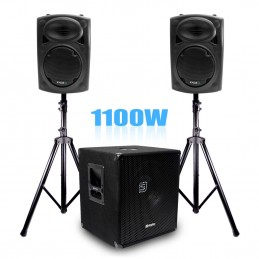 "Complete pack box 15 ""600W..."
