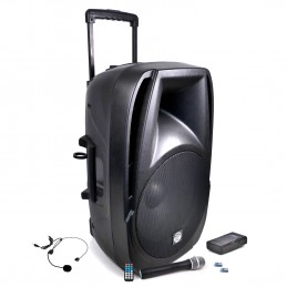 Mobile DJ speaker...