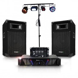 Pack light and sound DISCO...