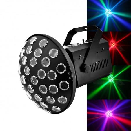 play of light mushroom AURIGA LEDS RGBW 4X3W + mounting bracket