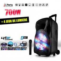 Mobile Active speaker 700W...
