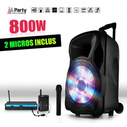 Mobile audio speaker 800W...