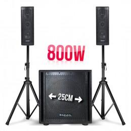 800W sound system triphonic...