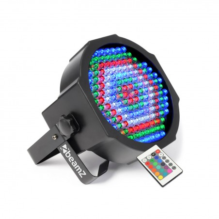Play of light Flat BY 154 LEDs 20W 10mm Red / Green / Blue / White - DMX + Remote