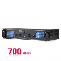 Amplifier PA 2 x 350 W with...