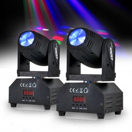 2 Pack Moving Head Light...