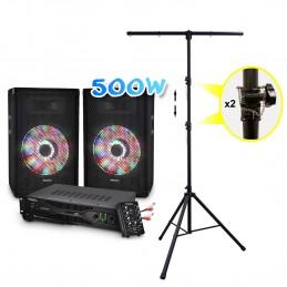 Pack 2 speakers sound...