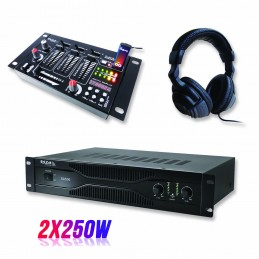 Pack PA amplifier 500W...