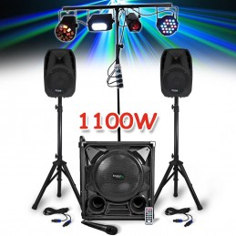 Pack sono 1100W - Subwoofer...