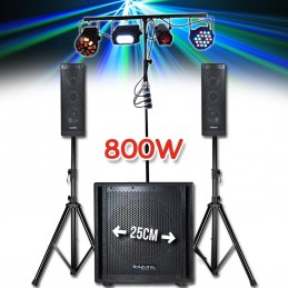Pack 800W sound system - 2...