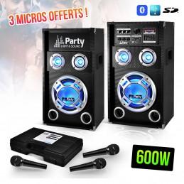 LED Karaoke System 2 2-way...