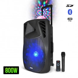 speaker LED RGB + Dome...