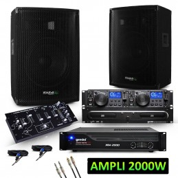 2 2x600W speakers + 2000W...