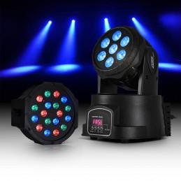 Lyre RGBW LED 7x10W +...