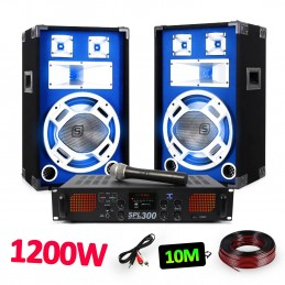 "Pack PA Speakers 12 ""LED +..."