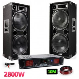 "Pack PA - Speakers 2x12 ""-..."