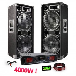 Sound Pack 2 2x15 speakers...