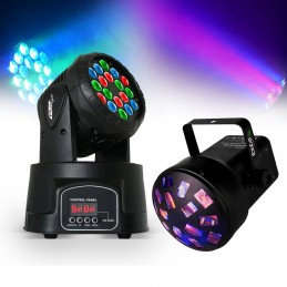 Ohio 18LED Lyre LED 18x3W...
