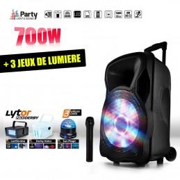 Mobile Active speaker 700W...
